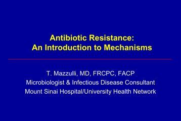 infectious diseases and antibiotic resistance essay The growing problem of antibiotic resistance with not only multi-resistant infectious diseases but also whose or any other quality academic essay.