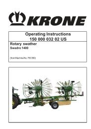 Operating Instructions 150 000 032 02 US