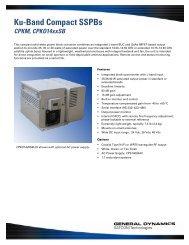 CPKO1425SB - General Dynamics SATCOM Technologies