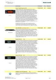 Omnia Preisliste 01.Oktober 2011 - bei Thum + Mahr!