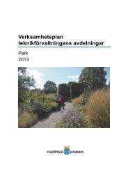 Verksamhetsplan 2013 - Enköping