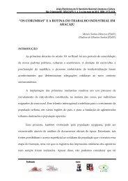 """""""OS CORUMBAS"""" E A ROTINA DO TRABALHO INDUSTRIAL EM ..."""