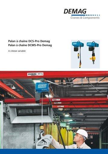 Palan à vitesse variable DCS-Pro (PDF   507.4 KB )