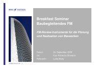 FM-Review-Instrumente für die Planung und Realisation von ...