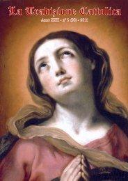 La Tradizione Cattolica - Fraternità Sacerdotale di San Pio X