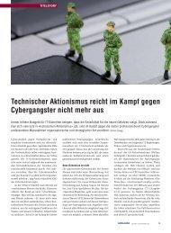 Cybercrime-Artikel - ISSS