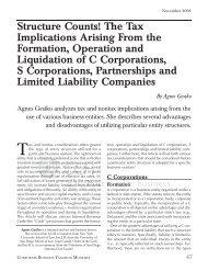 C Corporations - CCH