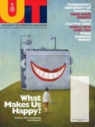 39 MB - University of Toronto Magazine