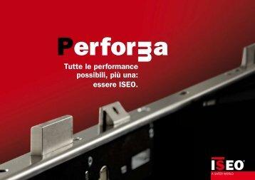 Brochure Performa - Iseo Serrature spa