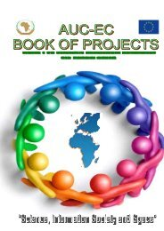 Book of Projects - EuroAfrica-ICT
