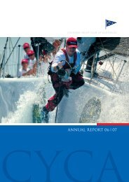 2006/7 Annual Report - Cruising Yacht Club of Australia