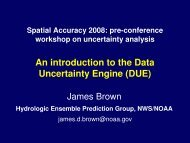 An introduction to the Data Uncertainty Engine (DUE) - spatial ...