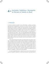 Instituições Trabalhistas e Desempenho do Mercado de ... - Ipea