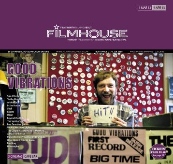 01 Mar - 04 Apr - Filmhouse Cinema Edinburgh