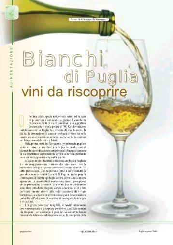 Bianchi di Puglia, vini da riscoprire