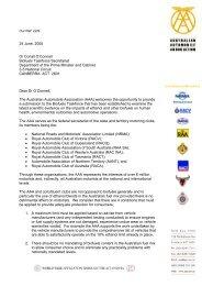 22/9 24 June, 2005 Dr Conall - Australian Automobile Association