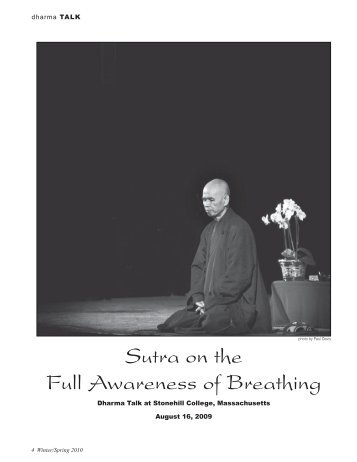 PDF of this article - The Mindfulness Bell