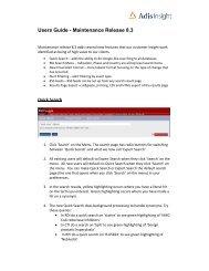 Users Guide - Maintenance Release 8.3 - Ospedale Niguarda