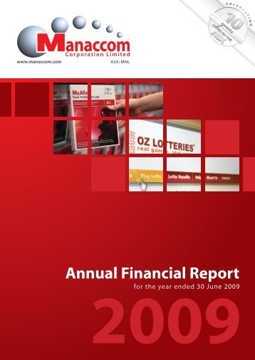 Annual Financial Report - Jumbo Interactive Ltd