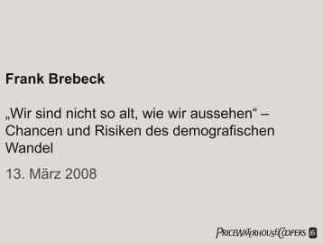 Frank Brebeck - Bonner Fachtagung