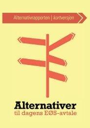 Alternativrapporten kortversjon.pdf - Nei til EU