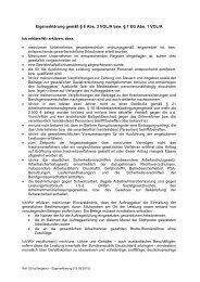 Eigenerklärung gemäß § 6 Abs. 3 VOL/A bzw. § 7 EG Abs. 1 VOL/A