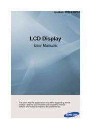 Samsung 460TS-3 User Guide - Touch Screens Inc.
