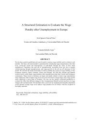 A Structural Estimation to Evaluate the Wage Penal... - ResearchGate