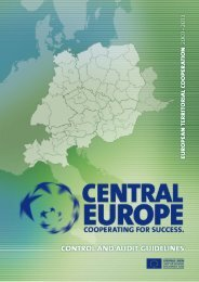 Control and Audit Guidelines - Fondi Europei 2007-2013