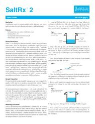 SaltRx 2 User Guide HR2-109 - Hampton Research