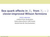 Sea quark effects in BK from Nf = 2 clover-improved Wilson fermions
