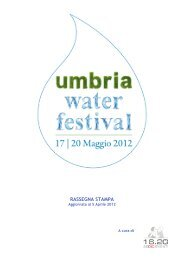 Rassegna Stampa_05.04.2012 - Umbria Water Festival