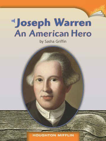 Lesson 13:Joseph Warren An American Hero