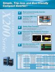 X200 Series Variable Frequency Drive | Industrial ... - Dart Controls - Page 2