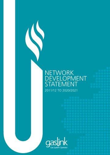 NETWORK DEVELOPMENT STATEMENT - Gaslink
