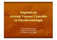 Complicaciones implante - Técnicas intervencionistas