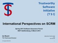 TSI - Build Security In