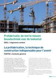 Prefabricatie: de niet te missen bouwtechniek voor de ... - Febe
