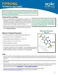 Fipronil Technical Fact Sheet - National Pesticide Information Center ...