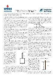 Mecânica dos Fluidos - Instituto de Física - UFRGS