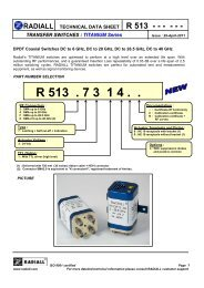 R513473148 DataSheet - RfMW