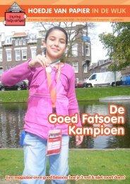 De Goed Fatsoen Kampioen - Wijktijgers