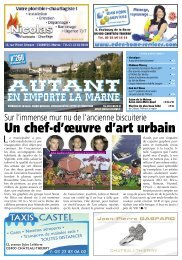 Un chef-d'œuvre d'art urbain - Autant en Emporte la Marne