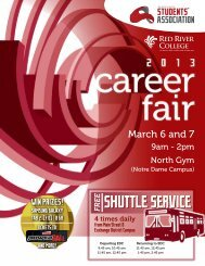 2013 Career Fair Guide - Red River College
