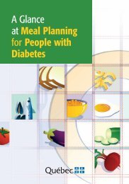 A Glance at Meal Planning for people with Diabetes