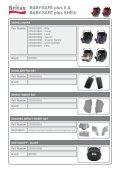 Spare Parts Car Seat Catalogue 2011 - Britax - Page 7