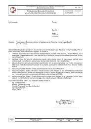 Trasmissione Documento Unico di Valutazione dei ... - fareonline.it