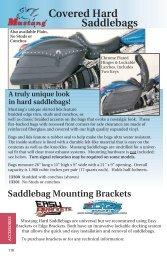 Covered Hard Saddlebags & Lid Covers - Zodiac