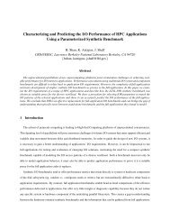 Characterizing and Predicting the I/O Performance of HPC ...