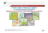Journée d 'études - Géologie de l 'Ingénieur Les nouvelles ... - sbgimr